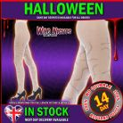 HALLOWEEN FANCY DRESS # WHITE STITCH DESIGN TIGHTS